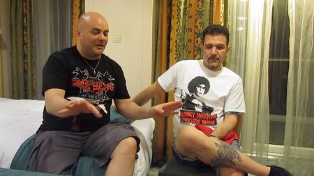 Interview: Anthrax drummer Charlie Benante chats at 70000 Tons of Metal