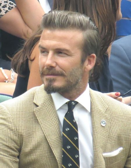 Th Anniversary Of The LA Galaxy Signing David Beckham AXS - David beckham hairstyle la galaxy