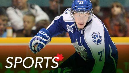 Ontario Reign sign Devane and Schmalz