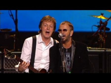Paul McCartney, Ringo Starr are natural standouts in 'Change Begins Within' concert, which finally gets released on home video