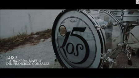 Los 5 and Maffio take it to the streets in 'Ladrón' music video