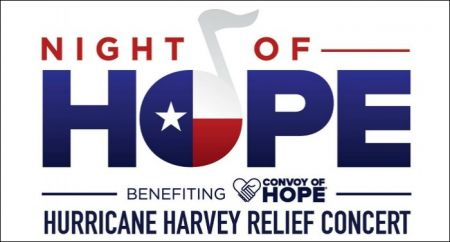 Night of Hope for Hurricane Harvey relief