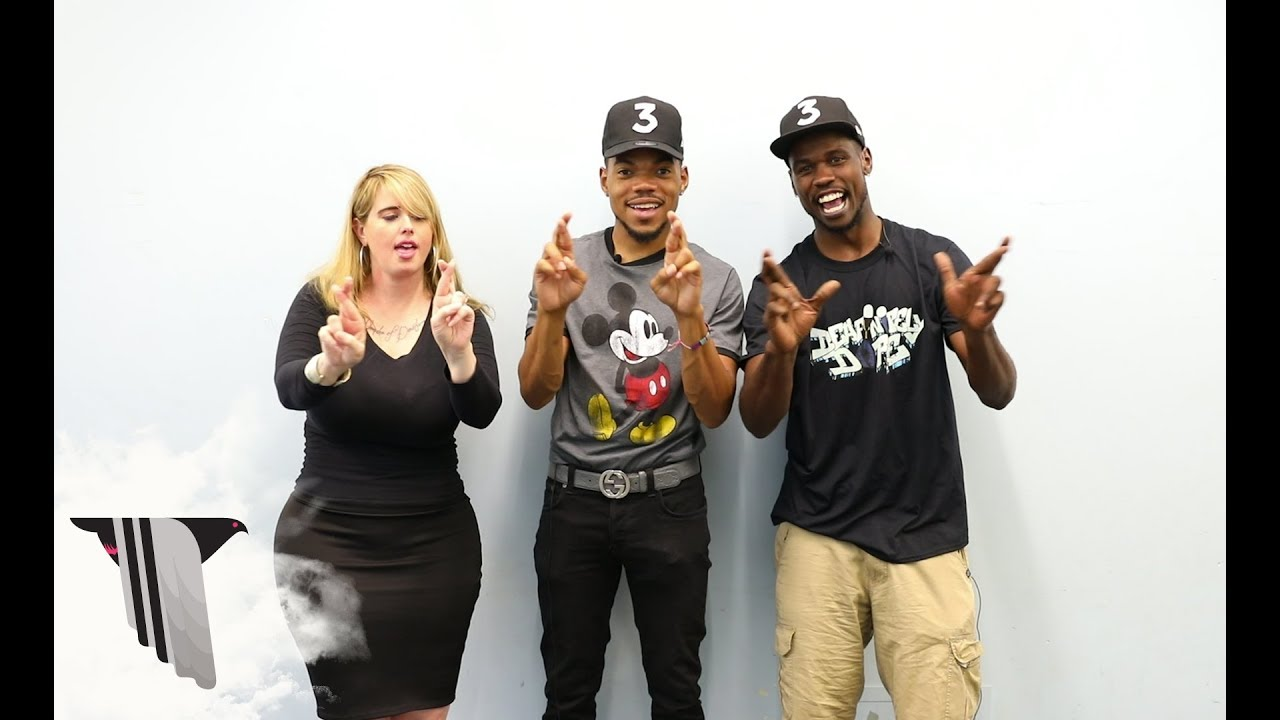 Watch Chance the Rapper learn 'Blessings (Reprise)' in sign language