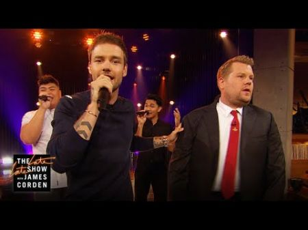 Watch: Liam Payne and James Corden face off in Boy Bands vs. Solo Artists riff-off