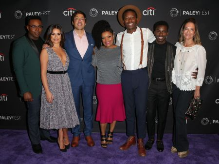 BEVERLY HILLS, CA - SEPTEMBER 9: The cast and creatives of ABC's 'The Mayor' arrive at The Paley Center for Media's 11th Annual PaleyFest Fa