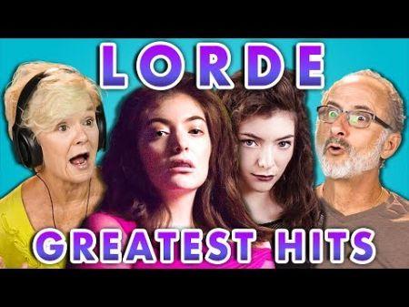 Watch elders react to Lorde songs