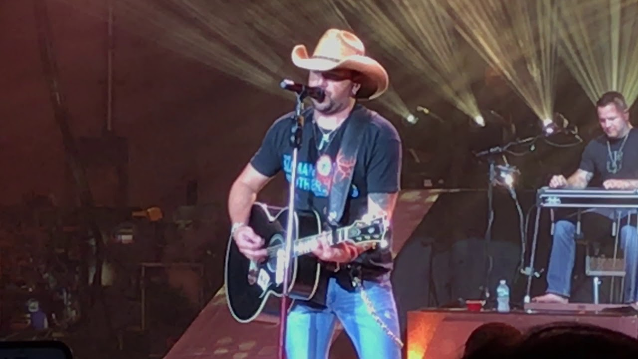 Jason Aldean pays tribute to Montgomery Gentry's  Troy Gentry with cover of  'Lonely and Gone'