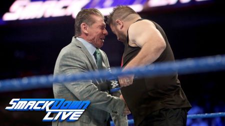 WWE adds Shane McMahon vs. Kevin Owens to SmackDown Live PPV