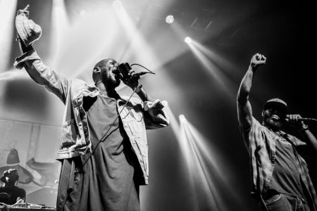 Yasiin Bey and Talib Kweli are Black Star in Oakland