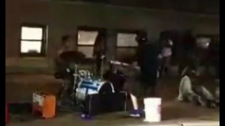 Watch: Eddie Vedder spotted joining busker in playing 'Corduroy' outside of Wrigley Field