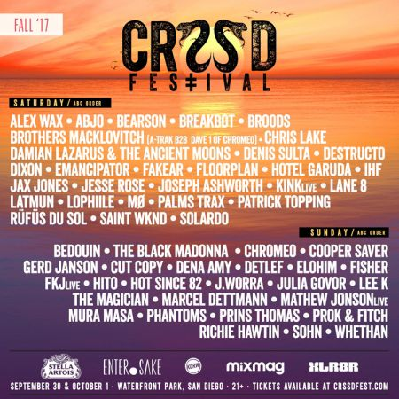CRSSD Fall 2017 gears up for epic party with stellar lineup