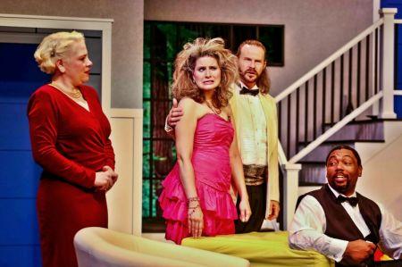 Chris (Jess Allan), Cassie (Kristen Blegen Bouyer), Glenn (Houston White) & Ken (Mark Peterson)