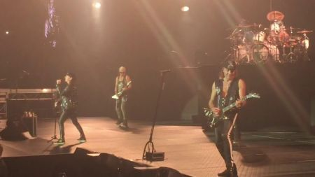 "Watch: Scorpions perform ""Rock You Like a Hurricane"" in New York"