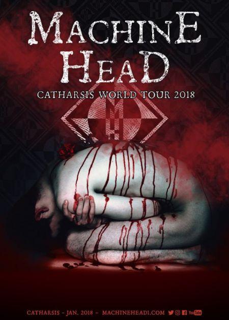 Machine Head announce Catharsis world tour