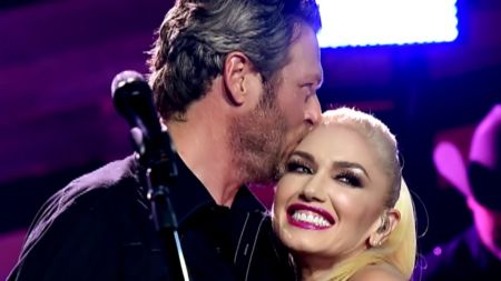 Gwen Stefani teases new Christmas song with Blake Shelton