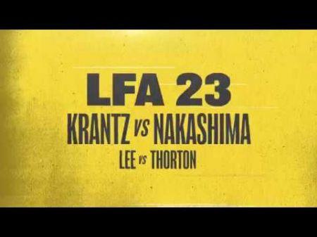 LFA 23: Lee, Thorton both make weight for flyweight championship showdown
