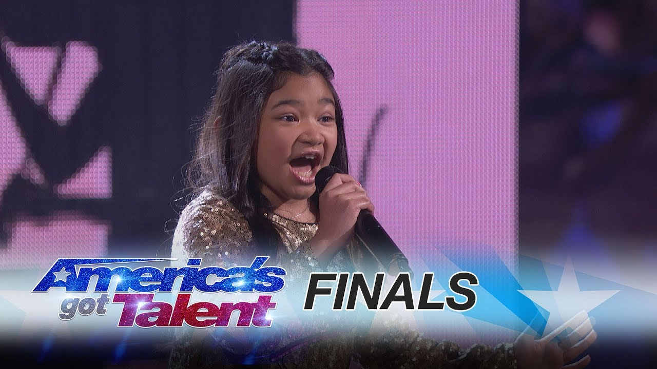 Interview: AGT season 12 runner-up Angelica Hale and her dad discuss her 'incredible' journey