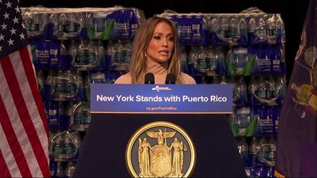 Jennifer Lopez donating $1 million to aid hurricane victims in Puerto Rico