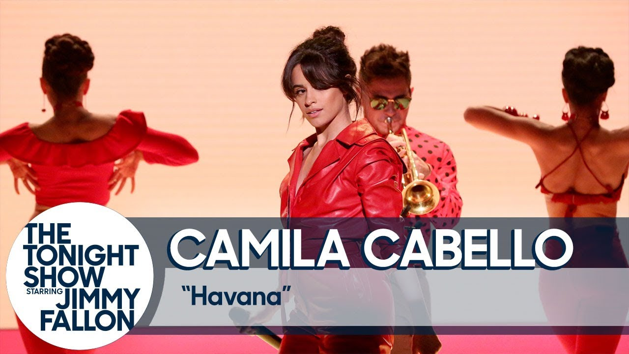 Camila Cabello gives 'Havana' live TV debut on 'Tonight Show'