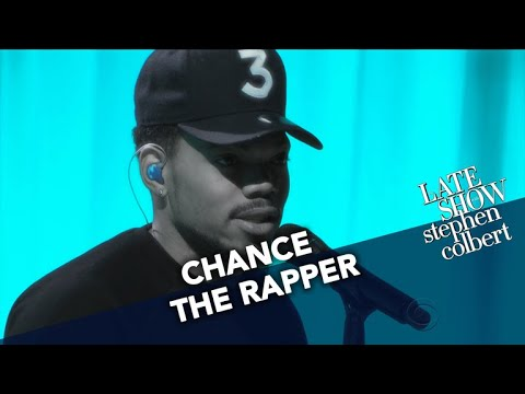 Chance the Rapper debuts new song on 'Colbert' with Daniel Caeser