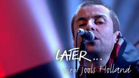 Watch: Liam Gallagher perform new single 'Greedy Soul' on 'Later... with Jools Holland'