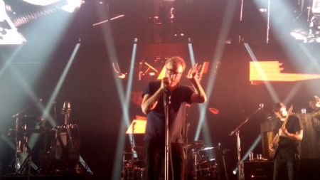 The National deliver spot on cover of Talking Heads' 'Heaven' at London's Eventim Apollo (watch)