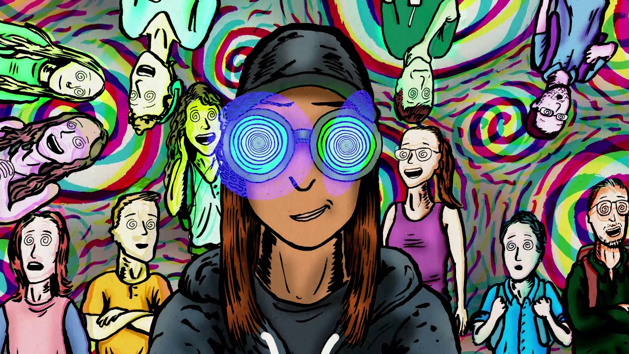 rezz announces psychedelic 60 page comic to accompany her latest