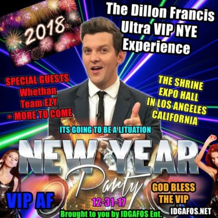 Dillon Francis announces ultra hometown New Year's Eve show