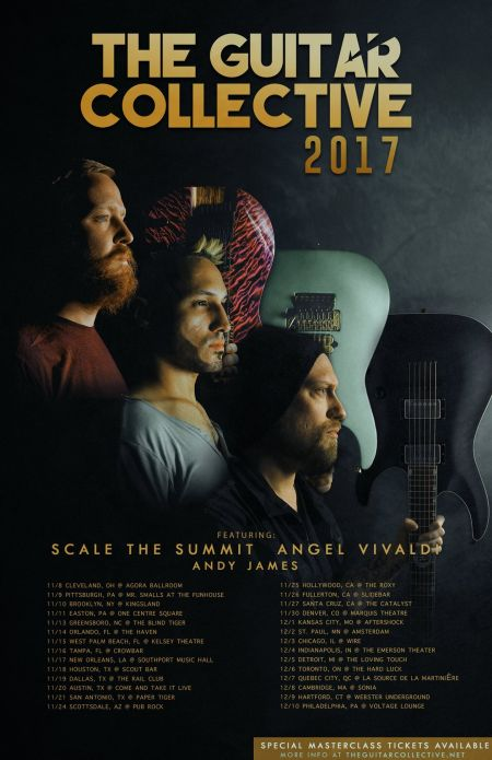 Scale the Summit and Angel Vivaldi plan 'Guitar Collective' North American tour