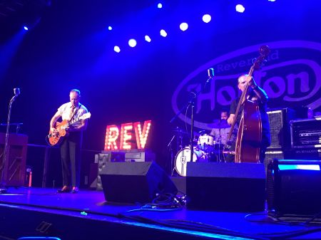 The Reverend Horton Heat rocks First Ave in Minneapolis, Minnesota, on September 26, 2017