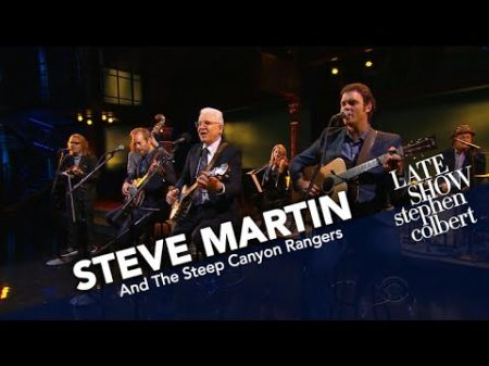 Comedians unite! Watch Steve Martin and Steep Canyon Rangers perform on 'Colbert'