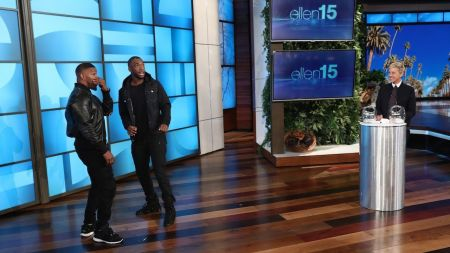 Watch Jamie Foxx and Jay Pharoah do hilarious impressions of Kanye West, Beyoncé and others