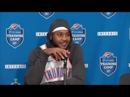 Carmelo Anthony has unique opportunity with Oklahoma City Thunder