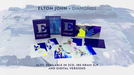 Elton John announces greatest hits compilation 'Diamonds,' out in November