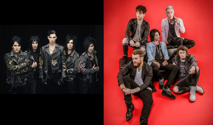 Black Veil Brides & Asking Alexandria tickets at The Complex in Salt Lake City