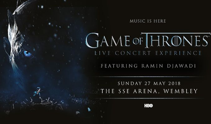 Game Of Thrones Live Concert Experience Featuring Ramin Djawadi tickets at The SSE Arena, Wembley in London