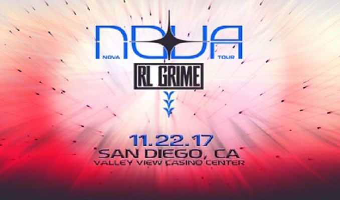 RL Grime tickets at Valley View Casino Center in San Diego