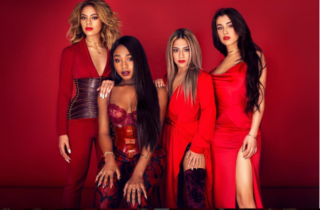 The pop group Fifth Harmony performed for the first time without former member Camila Cabello.