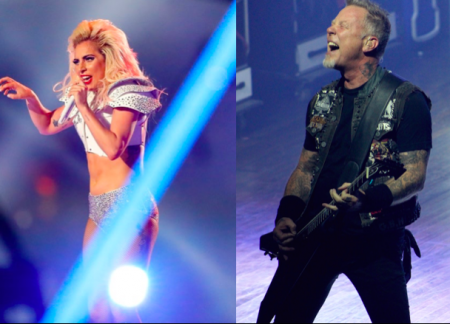 Lady Gaga will reportedly be performing alongside Metallica at the 59th Grammy Awards this Sunday.
