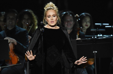 Adele had to run it back during her tribute to george Michael at the Grammys
