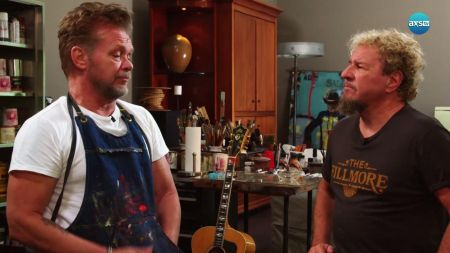 John Mellencamp talks about life as an artist on 'Rock & Roll Road Trip with Sammy Hagar,' check it out on AXS TV