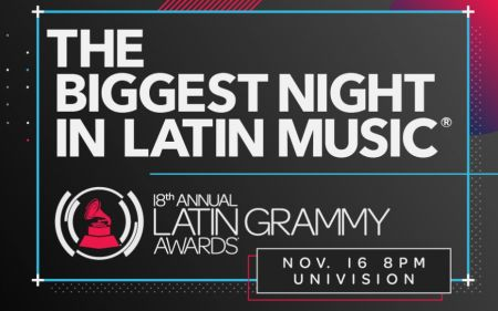 The 18th Annual Latin GRAMMY Awards will air Thursday, Nov. 16, 2017, live on Univision from the MGM Grand Garden Arena in Las Vegas.