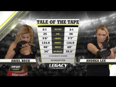 Andrea Lee says Legacy Fighting Alliance 23 'could be' her last hometown fight