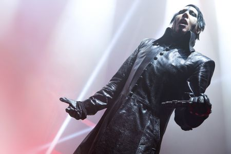 Marilyn Manson live at the Hammerstein Ballroom on September 30th, 2017.