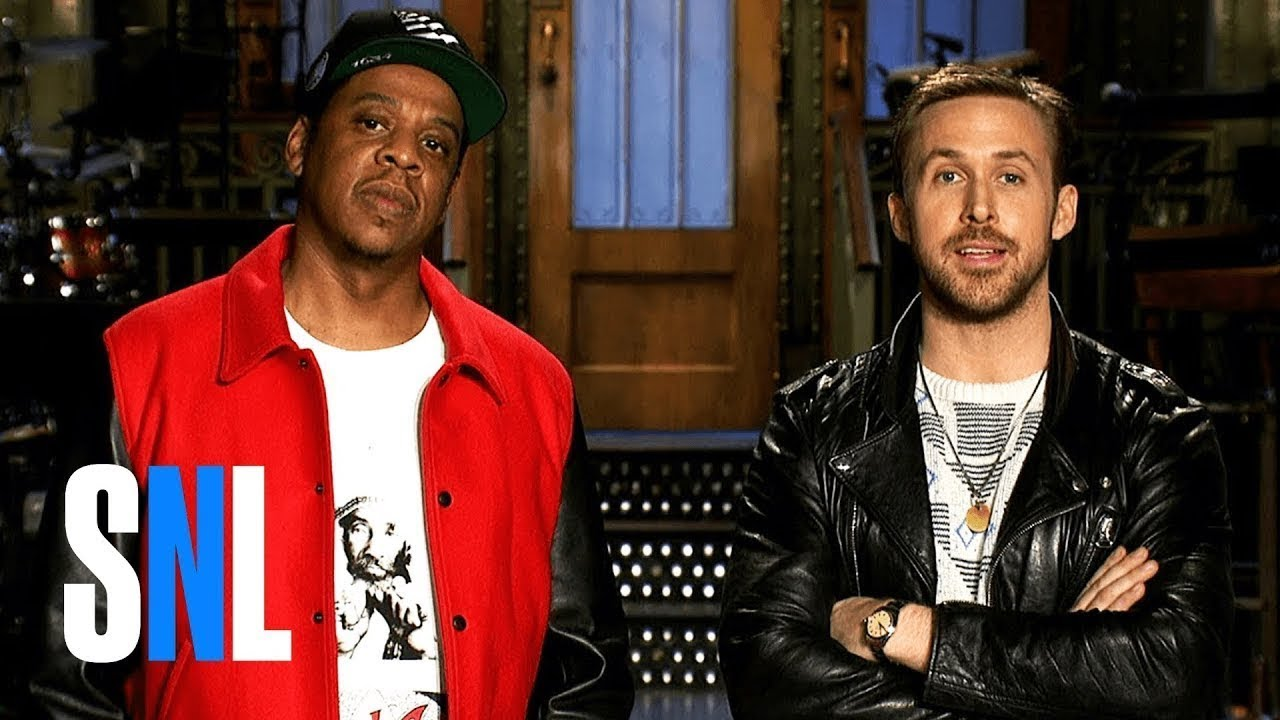 c8e145a9d9f JAY-Z gives stellar performances of 'Bam' and '4:44' on the season premiere  of 'SNL'