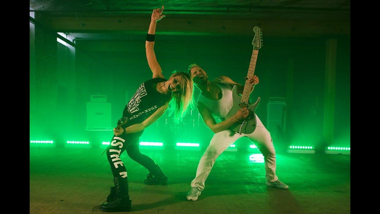 Angel Vivaldi releases new video for 'Serotonin' featuring Nita Strauss