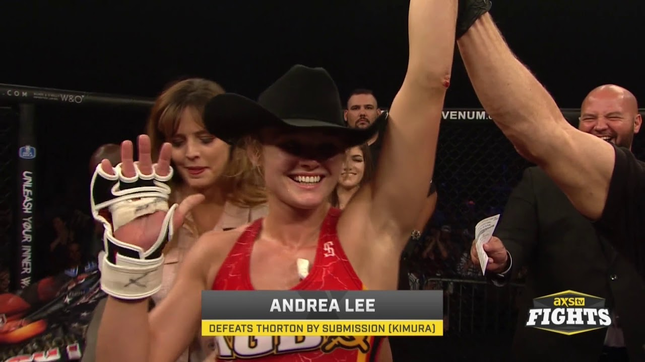 Legacy Fighting Alliance: The story behind Andrea 'KGB' Lee's controversial nickname