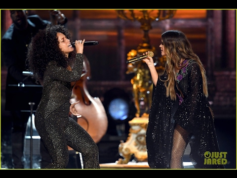 Alicia Keys & Maren Morris twinkle with 'Once' at the 2017 Grammy Awards