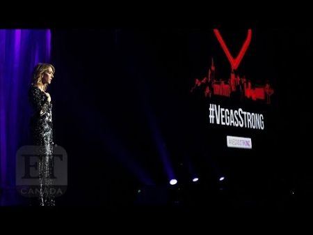 Céline Dion honors Las Vegas shooting victims at concert