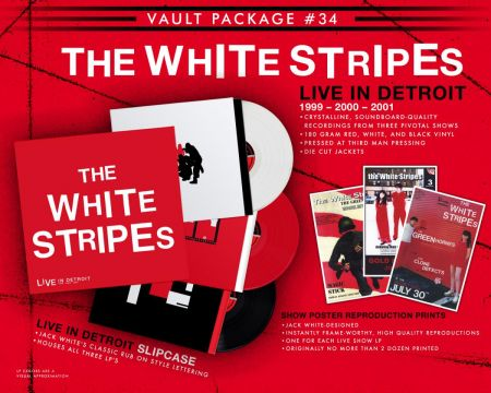 White Stripes announce live album as part of Third Man Records' Vault subscription series